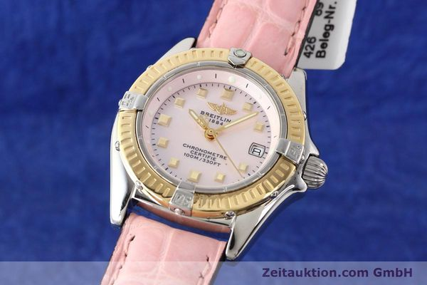 Used luxury watch Breitling Callistino steel / gold quartz Ref. D72345  | 140436 04