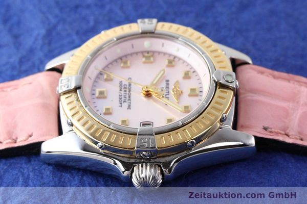 Used luxury watch Breitling Callistino steel / gold quartz Ref. D72345  | 140436 05