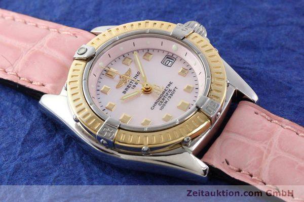 Used luxury watch Breitling Callistino steel / gold quartz Ref. D72345  | 140436 13