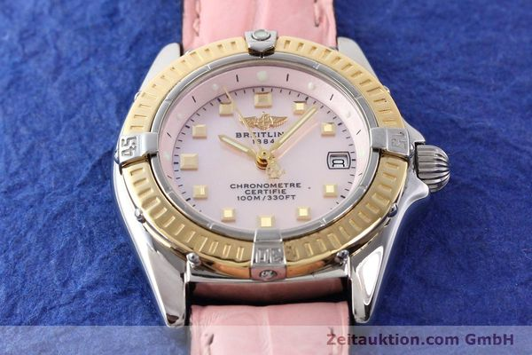 Used luxury watch Breitling Callistino steel / gold quartz Ref. D72345  | 140436 14