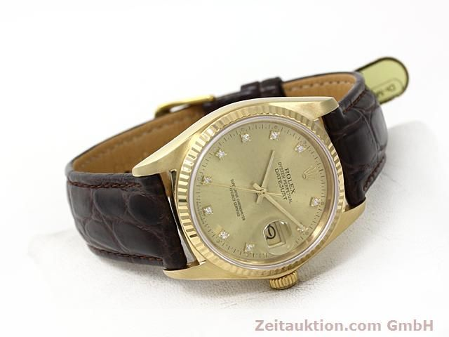 Used luxury watch Rolex Datejust 18 ct gold automatic Kal. 3035 Ref. 16248  | 140437 03