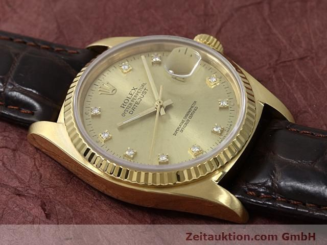 Used luxury watch Rolex Datejust 18 ct gold automatic Kal. 3035 Ref. 16248  | 140437 12