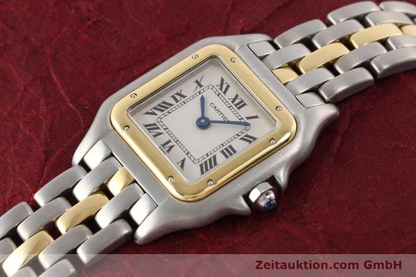 Used luxury watch Cartier Panthere steel / gold quartz  | 140440 01