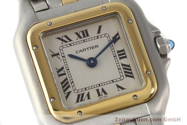 Used luxury watch Cartier Panthere steel / gold quartz  | 140440 02