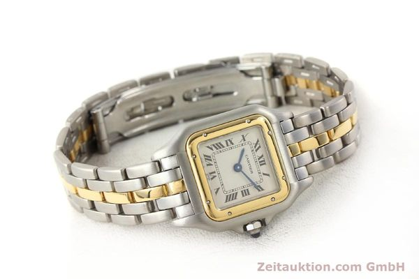 Used luxury watch Cartier Panthere steel / gold quartz  | 140440 03