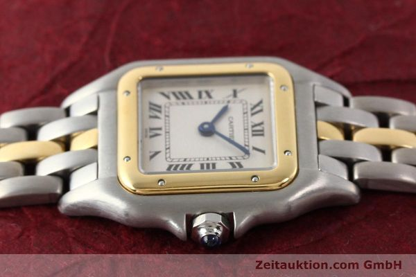 Used luxury watch Cartier Panthere steel / gold quartz  | 140440 05