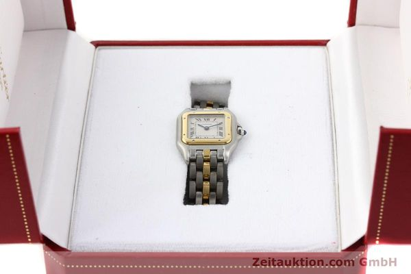 Used luxury watch Cartier Panthere steel / gold quartz  | 140440 07