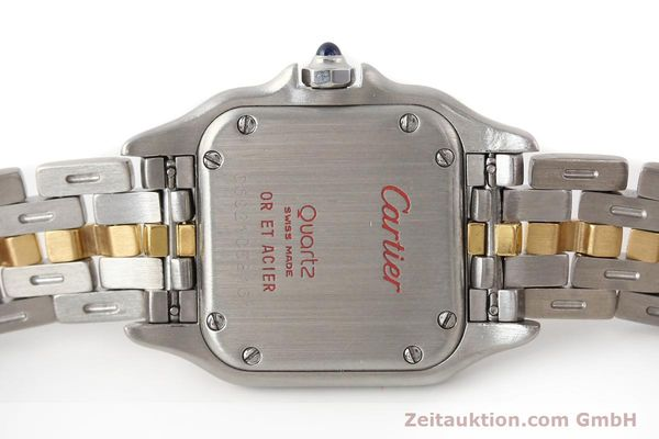 Used luxury watch Cartier Panthere steel / gold quartz  | 140440 10