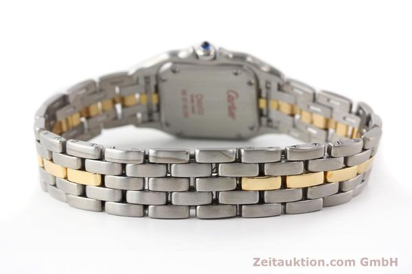 Used luxury watch Cartier Panthere steel / gold quartz  | 140440 12