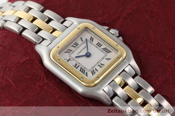 Used luxury watch Cartier Panthere steel / gold quartz  | 140440 16