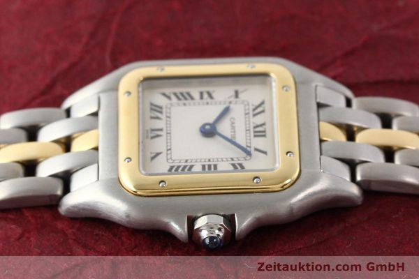 Used luxury watch Cartier Panthere steel / gold quartz  | 140440 17