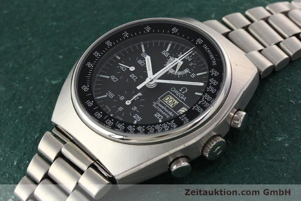 Used luxury watch Omega Speedmaster steel automatic Kal. 1045 Ref. 1760012  | 140441 01