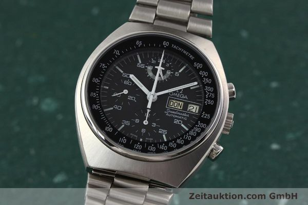 Used luxury watch Omega Speedmaster steel automatic Kal. 1045 Ref. 1760012  | 140441 04