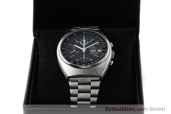 Used luxury watch Omega Speedmaster steel automatic Kal. 1045 Ref. 1760012  | 140441 07