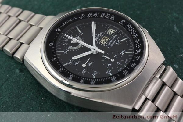 Used luxury watch Omega Speedmaster steel automatic Kal. 1045 Ref. 1760012  | 140441 16