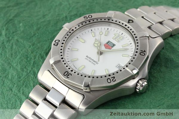 Used luxury watch Tag Heuer * steel automatic Ref. WK2110  | 140446 01