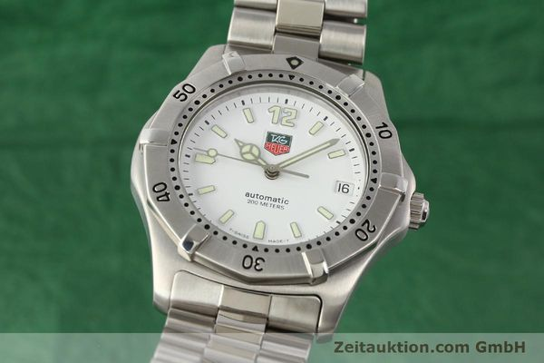 Used luxury watch Tag Heuer * steel automatic Ref. WK2110  | 140446 04