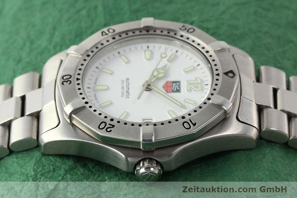 Used luxury watch Tag Heuer * steel automatic Ref. WK2110  | 140446 05