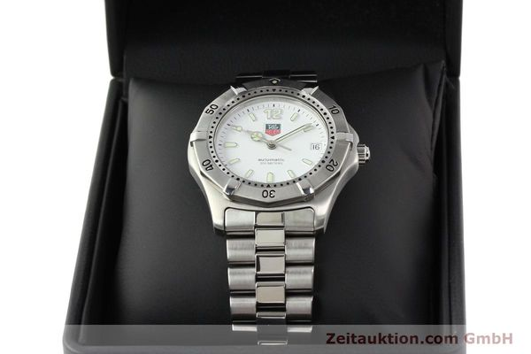 Used luxury watch Tag Heuer * steel automatic Ref. WK2110  | 140446 07