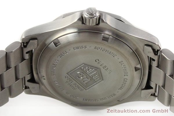 Used luxury watch Tag Heuer * steel automatic Ref. WK2110  | 140446 09