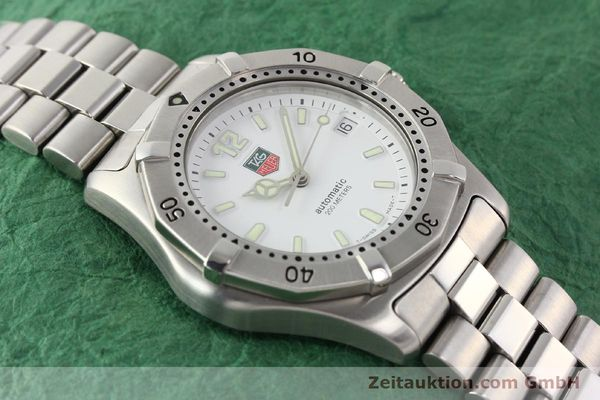 Used luxury watch Tag Heuer * steel automatic Ref. WK2110  | 140446 14