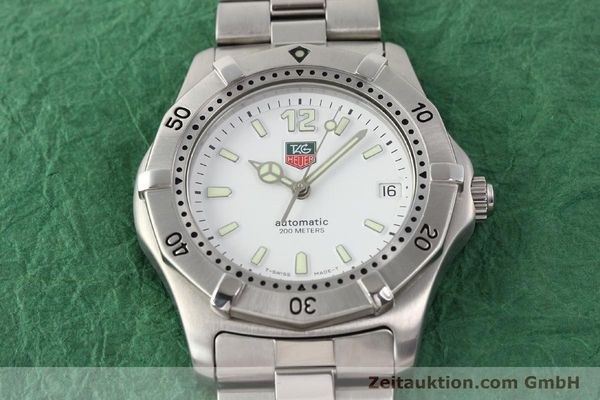 Used luxury watch Tag Heuer * steel automatic Ref. WK2110  | 140446 15