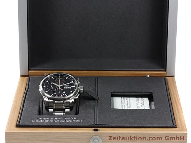 Used luxury watch Union Glashütte Viro steel automatic Kal. U7750 ETA 7750 Ref. D001.414A  | 140452 07