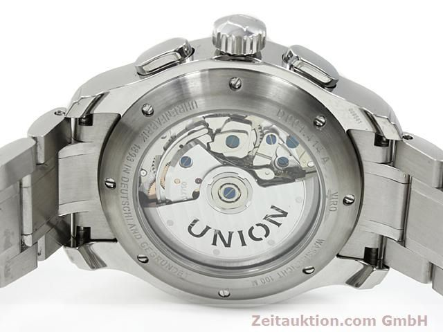 Used luxury watch Union Glashütte Viro steel automatic Kal. U7750 ETA 7750 Ref. D001.414A  | 140452 09