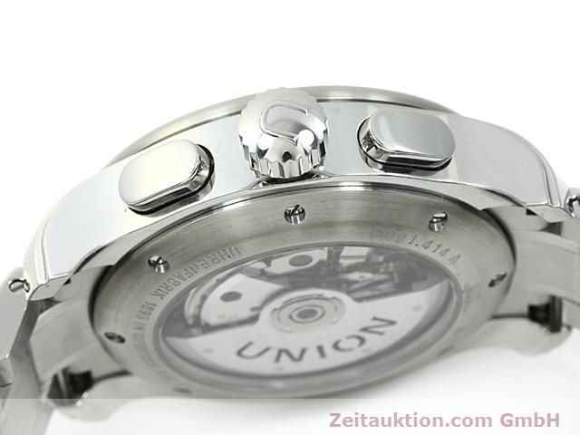 Used luxury watch Union Glashütte Viro steel automatic Kal. U7750 ETA 7750 Ref. D001.414A  | 140452 11