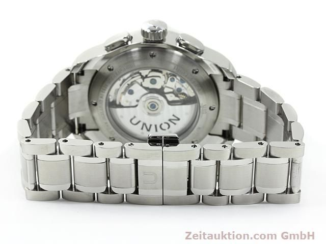 Used luxury watch Union Glashütte Viro steel automatic Kal. U7750 ETA 7750 Ref. D001.414A  | 140452 12