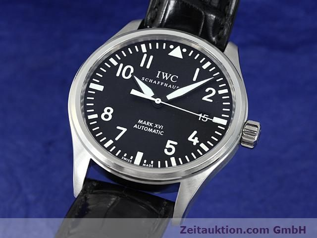 Used luxury watch IWC Mark XVI steel automatic  | 140453 04