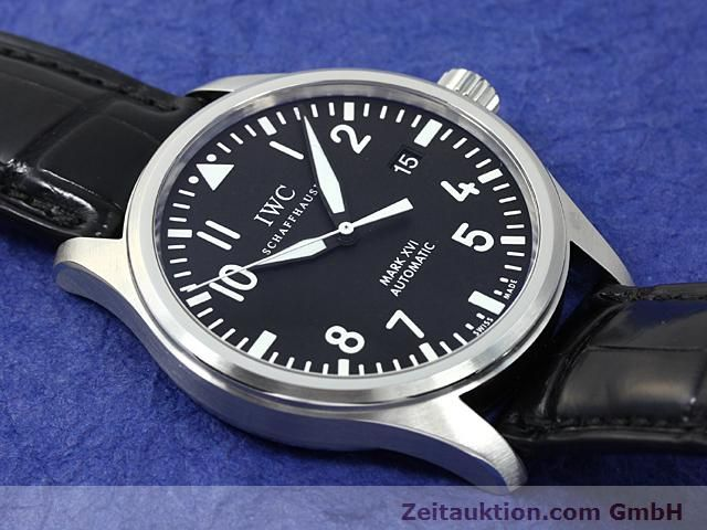 Used luxury watch IWC Mark XVI steel automatic  | 140453 16