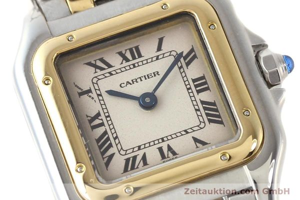 Used luxury watch Cartier Panthere steel / gold quartz  | 140454 02