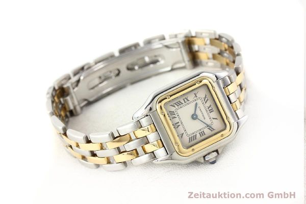 Used luxury watch Cartier Panthere steel / gold quartz  | 140454 03
