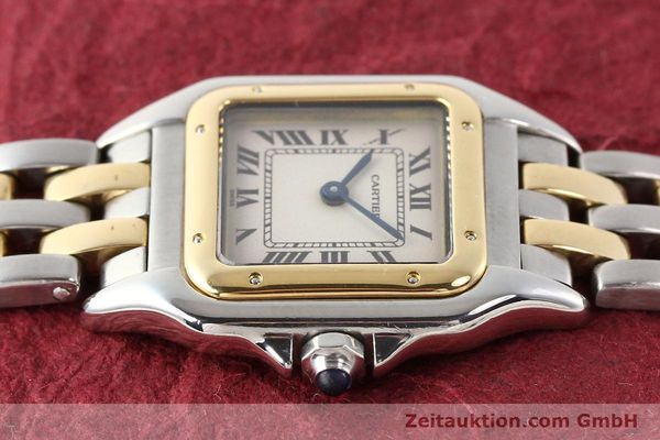 Used luxury watch Cartier Panthere steel / gold quartz  | 140454 05