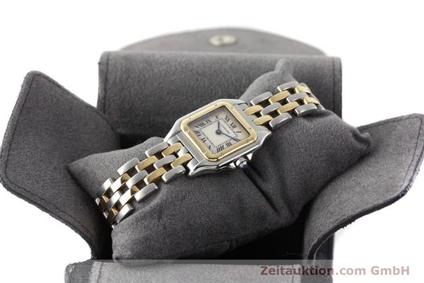 Used luxury watch Cartier Panthere steel / gold quartz  | 140454 07