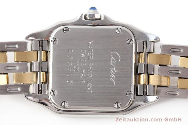 Used luxury watch Cartier Panthere steel / gold quartz  | 140454 09