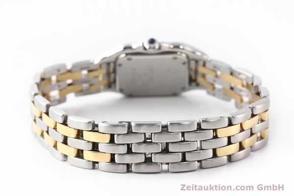 Used luxury watch Cartier Panthere steel / gold quartz  | 140454 10