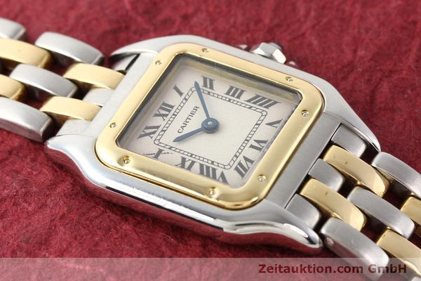 Used luxury watch Cartier Panthere steel / gold quartz  | 140454 13