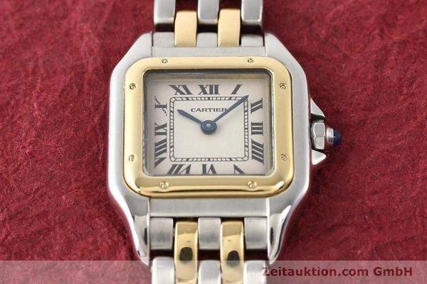 Used luxury watch Cartier Panthere steel / gold quartz  | 140454 14
