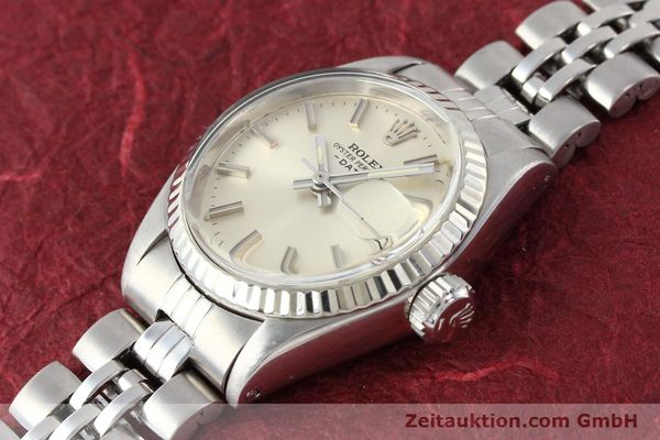 Used luxury watch Rolex Lady Date steel / gold automatic Kal. 2030 Ref. 6917  | 140461 01