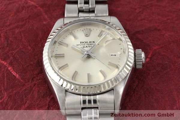 Used luxury watch Rolex Lady Date steel / gold automatic Kal. 2030 Ref. 6917  | 140461 02