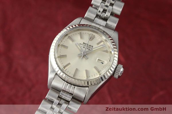 Used luxury watch Rolex Lady Date steel / gold automatic Kal. 2030 Ref. 6917  | 140461 04