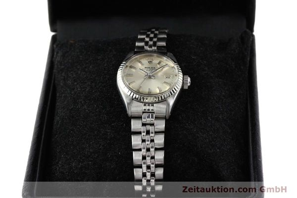 Used luxury watch Rolex Lady Date steel / gold automatic Kal. 2030 Ref. 6917  | 140461 07