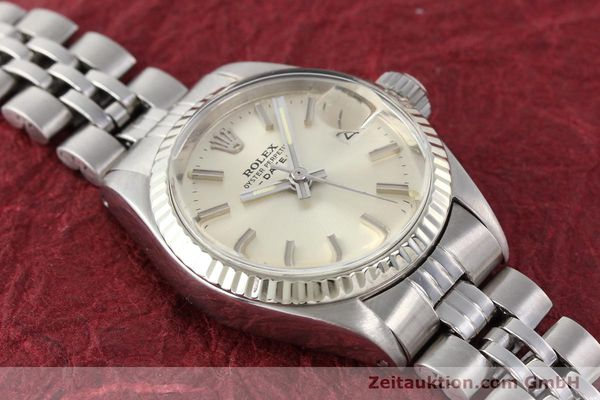 Used luxury watch Rolex Lady Date steel / gold automatic Kal. 2030 Ref. 6917  | 140461 14