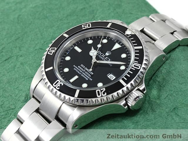 Used luxury watch Rolex Sea Dweller steel automatic Kal. 3135 Ref. 16600  | 140462 01