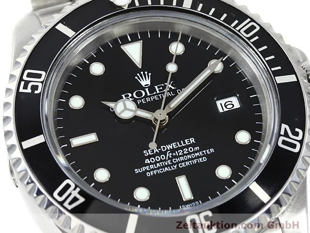 Used luxury watch Rolex Sea Dweller steel automatic Kal. 3135 Ref. 16600  | 140462 02