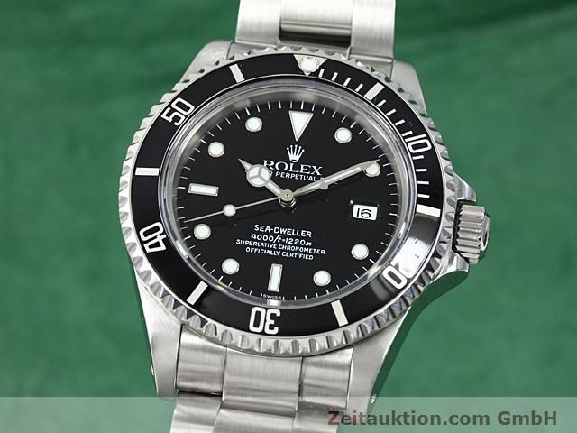 Used luxury watch Rolex Sea Dweller steel automatic Kal. 3135 Ref. 16600  | 140462 04