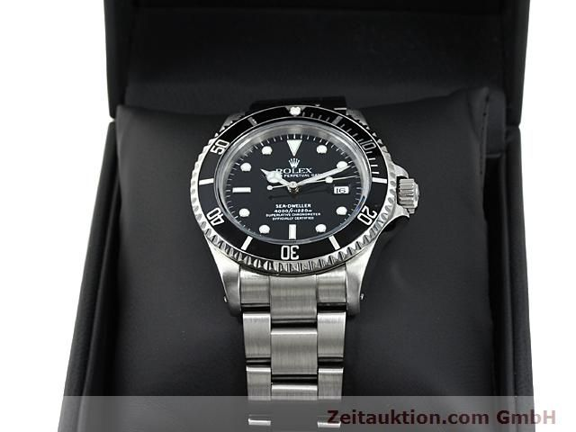 Used luxury watch Rolex Sea Dweller steel automatic Kal. 3135 Ref. 16600  | 140462 07