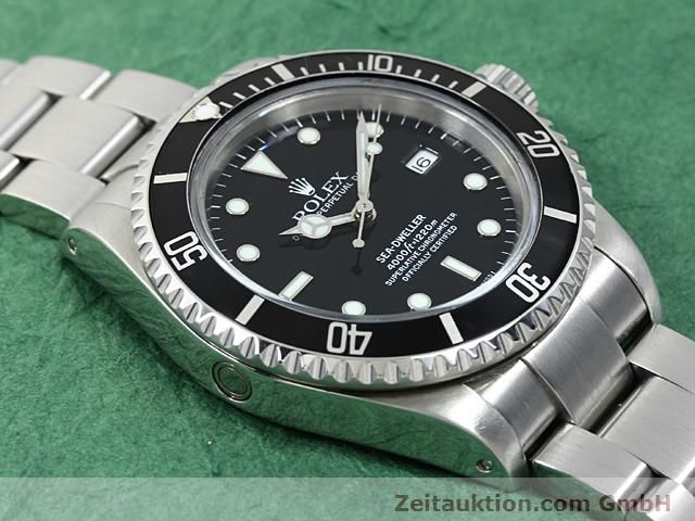 Used luxury watch Rolex Sea Dweller steel automatic Kal. 3135 Ref. 16600  | 140462 13